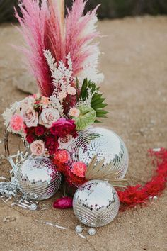 wedding inspo This styled shoot is simply oozing with all the groovy wedding vibes! California wedding vendors have created the ultimate disco wedding and our hearts were. for this gorgeous wedding inspo! Wedding Trends, Wedding Styles, Wedding Ideas, Wedding Colors, Wedding Flowers, Wedding Dresses, Prom Dresses, Hippie Chic, Design Floral