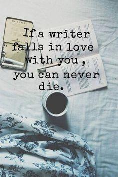"""""""Se um escritor se a"""