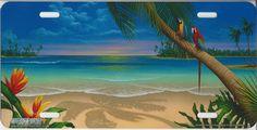 A Perfect Day II - Wall Mural & Photo Wallpaper - Photowall Another Perfect Day, Ocean Bedroom, Beach Mural, Murals Your Way, Widescreen Wallpaper, Beach Kids, Beach Scenes, Tropical Paradise, Photo Wallpaper