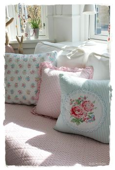 Love these Green Gate toss pillows!