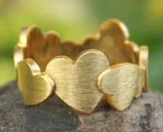 Much Love Heart Ring