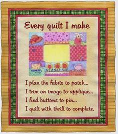 Quilting: Poems 1987-1990 | Books: Poetry | Pinterest | Poem ... : baby quilt poem - Adamdwight.com