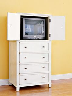 Use the drawers for office supplies!...turn a drawer upside down for writing space