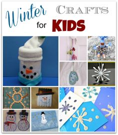 10 Winter Crafts for Kids