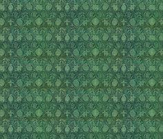 William Morris variation fabric by unseen_gallery_fabrics on Spoonflower - custom fabric