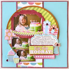 A Project by Jana Eubank from our Scrapbooking Gallery originally submitted at AM Birthday Scrapbook Layouts, Kids Scrapbook, Scrapbook Sketches, Scrapbook Page Layouts, Scrapbook Cards, Scrapbooking Ideas, Scrapbook Storage, Scrapbook Photos, Photo Layouts