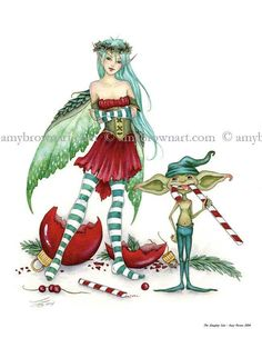 Bad Christmas Fairy