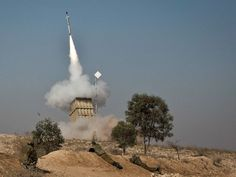 Israel's Iron Dome Intercepts Rockets Fired From Egypt Toward Resort City of Eilat