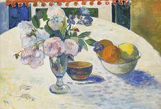 1972 Vintage Dutch Postcard Vincent Van Gogh Decanter and lemons