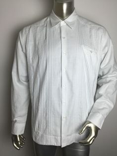 15be51155c60 Button-Front Long Sleeve Regular L Casual Shirts for Men