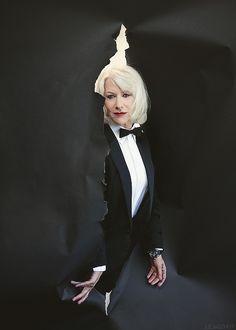 Helen Mirren Styled by Jeremy Clark Hellen Miren, Dame Helen, Best Actress Award, Fashion Designer, Actors & Actresses, Hollywood Actresses, First Girl, Famous Women, Cannes Film Festival
