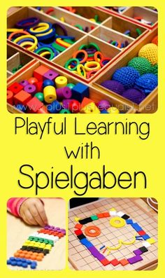 Playful Learning with Spielgaben ~ a new monthly series from @{1plus1plus1} Carisa