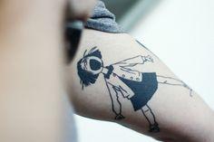 Ramona tattoo