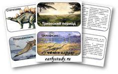 Скачать карточки с описанием динозавров