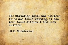 gk chesterton quotes christianity - Google Search