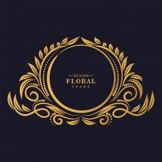 Ornamental golden decorative floral fram... | Free Vector #Freepik #freevector #background #banner #pattern #frame Design Mandala, Mandala Pattern, Frame Background, Background Patterns, Festival Background, Mandala Arabe, New Instagram Logo, Motif Arabesque, Abstract Template