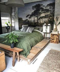 Home Interior Design Bohemian style bedroom in Kollam Netherlands. Small Bedroom Ideas Bedroom Bohemian Design Home Interior Kollam Netherlands Style Bedroom Inspo, Home Bedroom, Bedroom Inspiration, Bedroom Ideas, Master Bedrooms, Bedroom Table, Dream Bedroom, Modern Bedroom, Earthy Bedroom