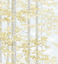 A wallpaper by artist Alexander Hamilton, incorporating forest trees and foliage this design has a 'fairy tale' like quality to it. Extra wide: please call for quantity advice. Printed to order. Non-returnable. Fabric Decor, Fabric Design, Fabric Birds, New Wallpaper, Textile Prints, Designer Wallpaper, Order Prints, Wall Murals