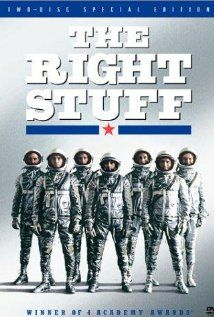 The Right Stuff: I bet I've seen this 2 dozen times and it's fresh every time. Great read too - by Tom Wolfe