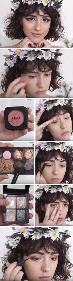 Blooming Beautiful | Fresh Spring Makeup Looks for Brown Eyes | Easy Easter Makeup Looks for Blue Eyes