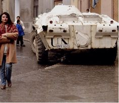 Український БТР-70 Сараєво (Sarajevo) 5 березня 1993