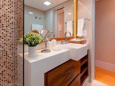 #aseos #small #bathrooms 50 #banheiros projetados por profissionais de CasaPRO - Casa