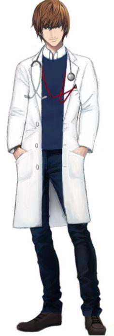 もしも夜神月が内科医だったら。 女の患者さんが殺到しそう。心拍数上がりそう。 わざと病気になる人でそう。 竜崎先生と院内で人気を二分してそう。 書いた論文がことごとく賞を取りそう。 若くして助教授に就任しそう。 巧みなコミュ力と演技力で老若男女を虜にしてそう。 イケメンすぎる医者で有名になりメディアから引っ張りだこになりそう。