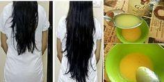 Remedio casero para dar brillo al cabello y hacerlo crecer en 2 semanas!