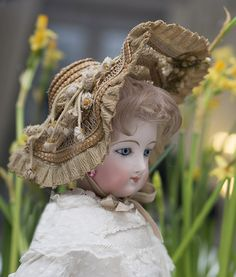 """20"""" (51 cm)French Fashion Doll by Francois Gaultier, spiral threaded from respectfulbear on Ruby Lane"""
