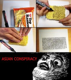Asian Food Conspiracy!