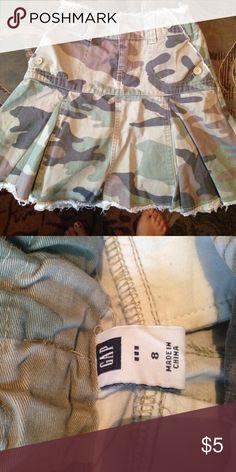 Camo Skirt Cute camo skirt! Hardly worn! Gap Bottoms Skirts