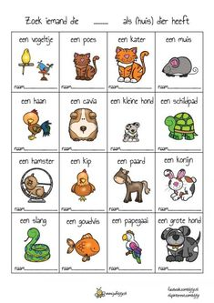 Teach Like A Champion, Learn Dutch, Class Pet, Dutch Language, Cooperative Learning, School Posters, Work Activities, Bingo, Class Door