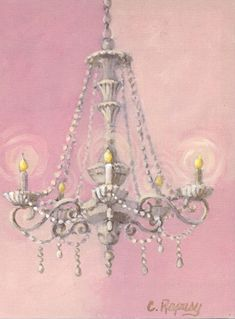 Timeless by Design Chandelier Lighted Wrapped Canvas | Wrapped ...