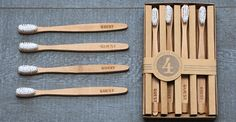WoodenvToothbrushes | Izola ... I can't wait until it's time to purchase new toothbrushes!