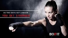 As the Days Get Longer - You Get ‪#‎STRONGER‬. Join ‪#‎BoxFit‬ for ‪#‎Strength‬ ‪#‎Workout‬ Call us for more information @ 09910068243