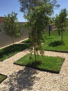 Grass blocks Contemporary design