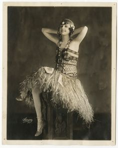 Sarony Zeigfeld Follies Show Girl 'Alberta Turner' 1916