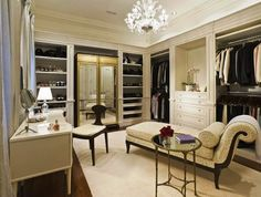 a closet should be a peaceful place to create how you will present yourself to the world each day.x