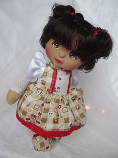 My Child Doll.the very first Hispanic doll I ever owned! My Child Doll, Love My Kids, Doll Eyes, Soft Dolls, Soft Sculpture, Fabric Dolls, Doll Patterns, My Children, Vintage Toys