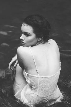 """""""There are women who inspire you with the desire to conquer them and to take your pleasure of them; but this one fills you only with the desire to die slowly beneath her gaze."""" -Charles Baudelaire (ph.: Fernanda Ramirez)"""