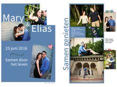 Uitnodiging huwelijk - kranten maken