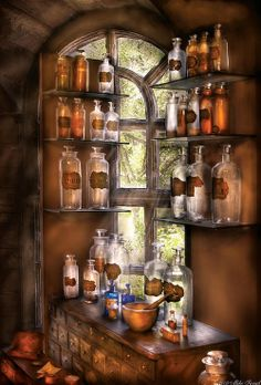 witchcraft potions