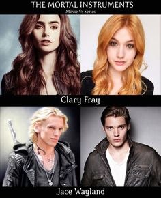 The Mortal Instruments Movie vs TV cast