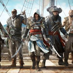 Assassin's Creed III.  Adewale Edward Kenway, Black Beard  https://www.facebook.com/Gamers-Interest-188181998317382/