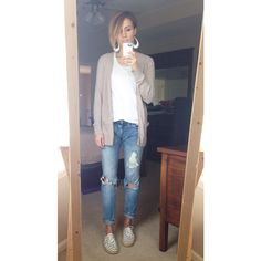 everyday style, distressed denim