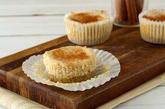 Snickerdoodle Cheesecake Cupcakes