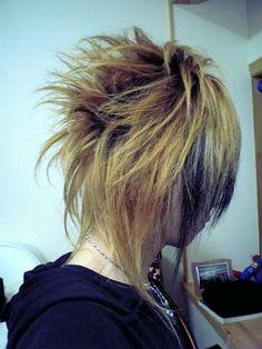 visual-kei hair style