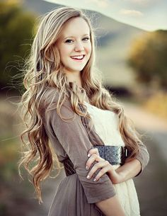 Gorgeous Long Curly Blonde Homecoming Hairstyle » Homecoming Hairstyles