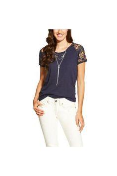 994e710dd40 Ariat Debbie Top Short Sleeve -Urban Western Wear Summer Wear For Women