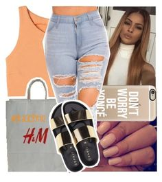 """""""mango."""" by graciegyrl12 ❤ liked on Polyvore featuring Casetify and H&M"""